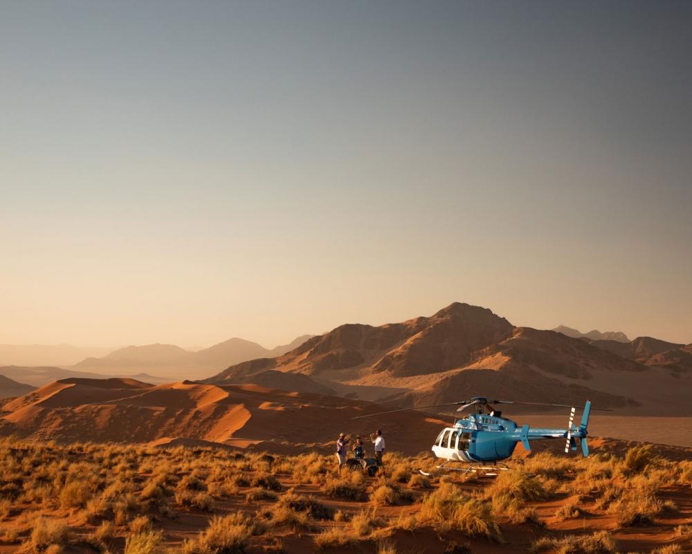 Sorvolo in Elicottero - Namib Desert